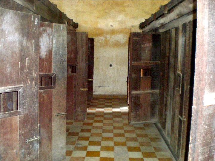 S-21 prison cells