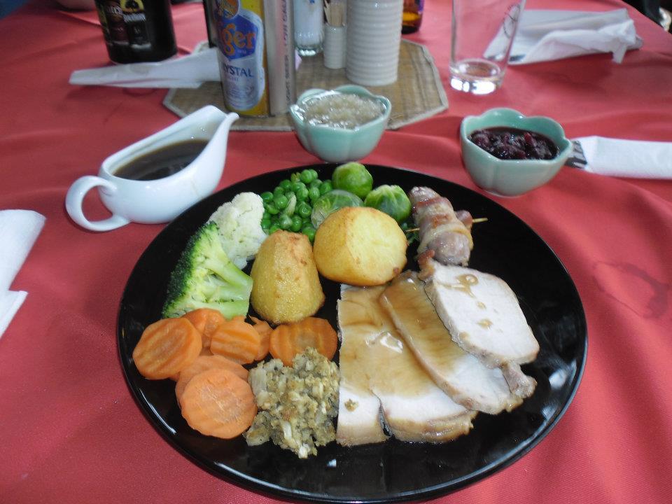 Thai Christmas dinner